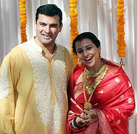 Vidya Balan weds Siddharth Roy Kapur