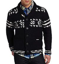 Cable Knits for Men in Winter