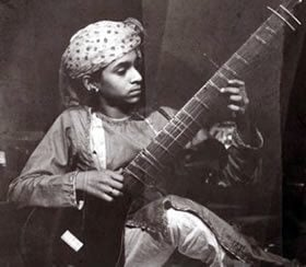 Very Young Ravi Shankar