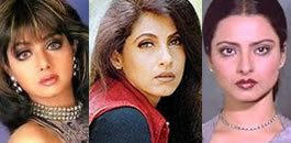 1980's Bollywood Beauties