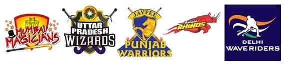 Hero Hockey India League 2013 Teams