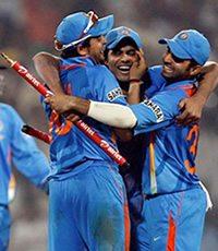 India win ODI Series against England