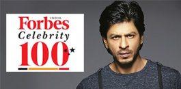SRK tops Forbes India Celebrity 100 List