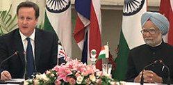 David Cameron's trade visit to India