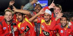 Ranchi Rhinos win 2013 Hockey India League