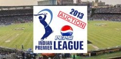 IPL 2013 Auction Results