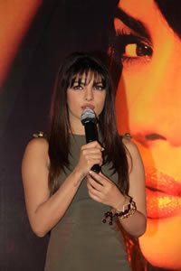 Priyanka at album launch