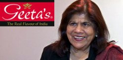 Geeta Samtani an Award winning Entrepreneur