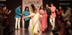 Lakme Fashion Week welcomes Asha Bhosle