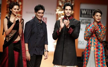 Manish Malhotra at WIFW Autumn-Winter 2013