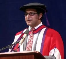 Atul Kochhar receives degree