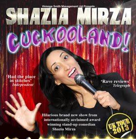 Shazia Mirza Cuckooland