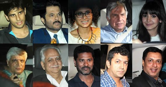 Bollywood Fraternity at the Spielberg event
