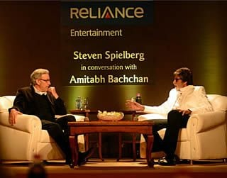 Amitabh Bhachan in conversation with Spielberg