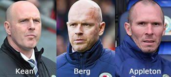 Three ex Blackburn Managers