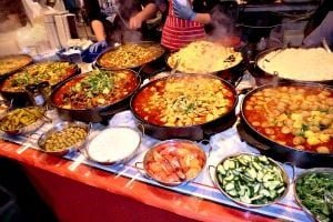 Asian cities - Brick Lane Food Market