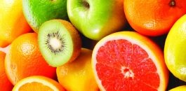 Colourful fruit