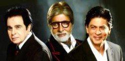 Filmfare Honours Dilip, Amitabh and Shahrukh