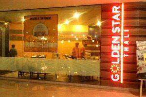 Golden Star Thali