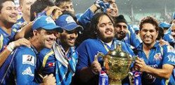 Mumbai Indians win IPL 2013 Final