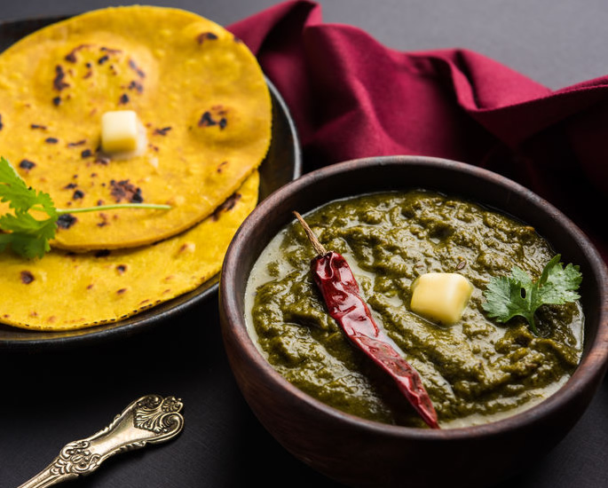 The Best of Indian Vegetarian Dishes - saag