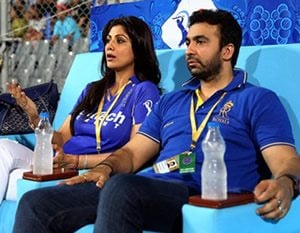 Shilpa Shetty and hubby shocked by scandal