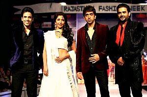 Bollywood stars @ RFW 2013