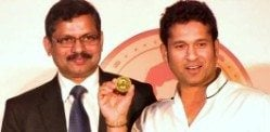Sachin Tendulkar has a Coin of Gold