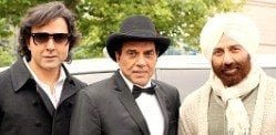 Dharmendra and Sons back with Yamla Pagla Deewana 2