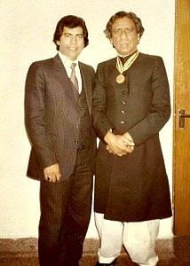 Tari Khan and Ustad Shaukat Hussain Khan