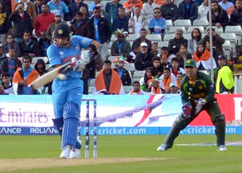 India beat Pakistan in ICC Champions Cricket