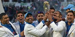 India wins 2013 ICC Champions Trophy