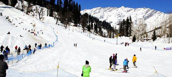 Shimla Skiing