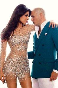 Priyanka Chopra with Pitbull-4