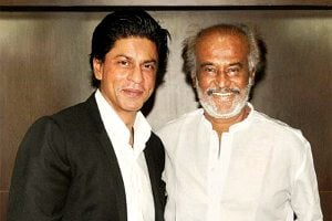 SRK and Rajnikanth