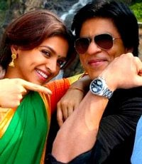 Shahrukh and Deepika