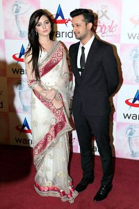 atif aslam and wife