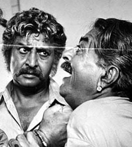 Pran in the film 'Dhan Daulat'