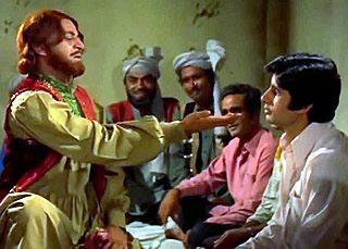 Pran as She Khan in Zanjeer