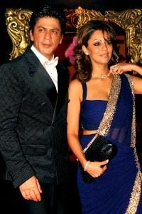 shahrukh khan with wife