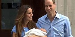 Britain welcomes a Royal Baby Boy!