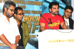 Main Hoon Shahid press conference- Syed Ali Raza director-Humayun-Vasay