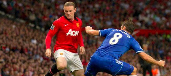 Manchester United vs Chelsea Wayne Rooney