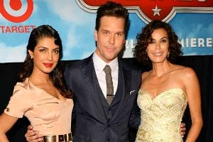Priyanka chopra planes premiere with Dane Cook and Teri Hatcher
