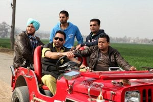 Punjab Bolda Sarbjit Cheema with Karamjit Anmol Movie Still
