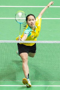 Ratchanok Intanon world badminton champion 2013