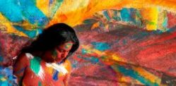 Vesa Kivinen paints Veena Malik for Artevo