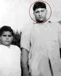 A young Khan sahib on the right