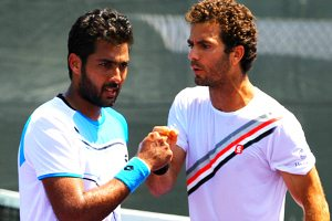 Aisam ul Haq Qureshi and Julien Rojer