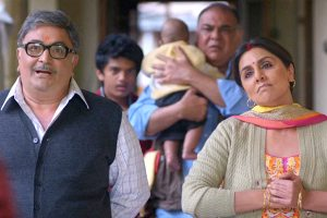 Besharam movie still Rshi Kapoor and his wife Neetu Singh